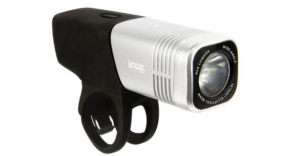 Knog Blinder ARC 640 Lampka rowerowa przednia białe LED srebrny